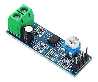Mgsystem Modulo Amplificador Audio Lm386 Arduino Proyectos