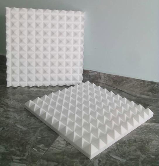 Termo Acustico Aislante Panel Piramidal 25x25x5cm Foto Real