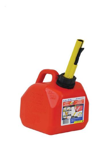 Tanque Bidon Surtidor Pico Nafta Gasolina 1 Galon Nautica