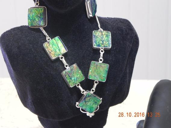 Colar- Bracelete-anel-brincos-prata 925 Sobreposição