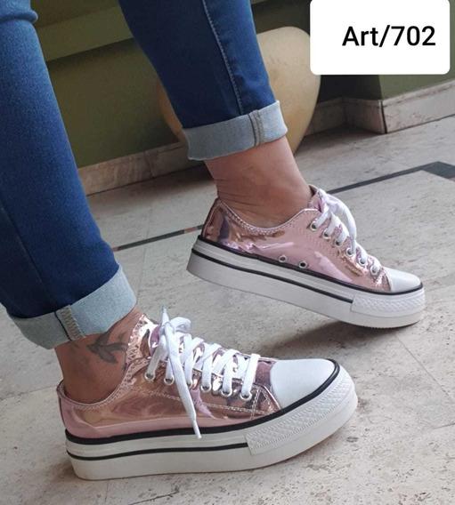 Zapatillas Plataforma Art 702