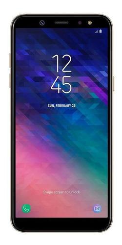 Imagem 1 de 4 de Samsung Galaxy A6+ 64gb Dourado Muito Bom - Celular Usado