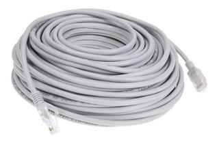Cable Red Utp Lan 20 Mt Conector Sellado De Fábrica