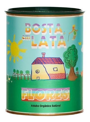 Imagem 1 de 1 de Fertilizante Orgânico Bosta Em Lata Flores - 400 G