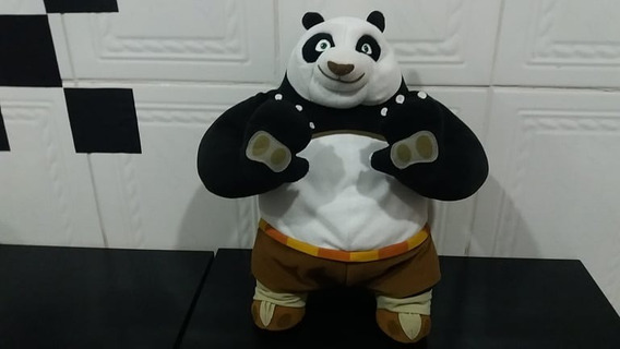 Boneco De Pelúcia Que Fala Ação Kung Fu Panda Fisher-price