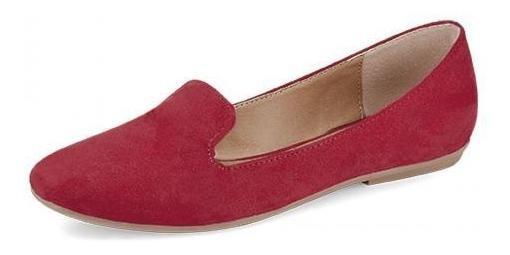 Zapatos Aranza Colleccion Rojo Pasion Mujeres Flats