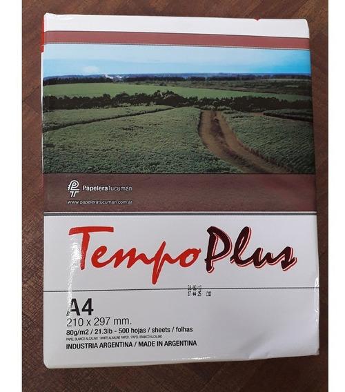 Resma Tempo Plus A4 80 Grs 500 Hojas Consultar Envio