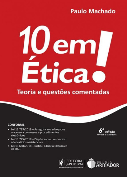 10 Em Etica - Juspodivm