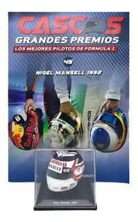 Coleccion Cascos Grandes Premios F1 Nigel Mansell 45