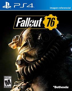 Fallout 76 / Juego Físico / Ps4