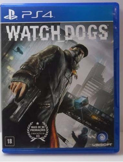 Jogo Watch Dogs Ps4 Midia Fisica