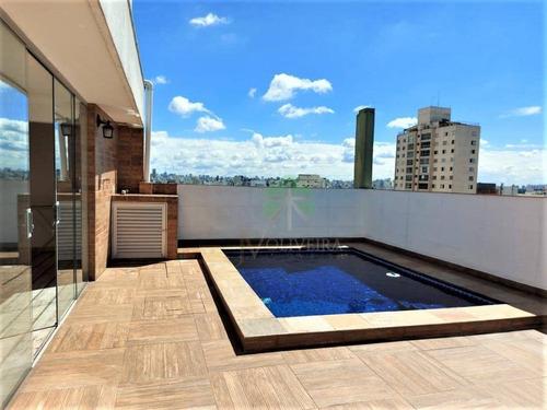 Imagem 1 de 22 de Cobertura Duplex Com 2 Suítes À Venda, 185 M² Por R$ 1.800.000 - Brooklin - São Paulo/sp - Co0106