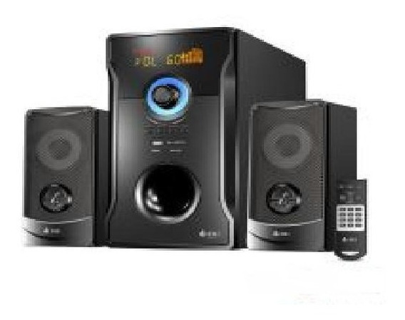 Som Vox Max 2.1 Bluetooth 60w Bivolt Home Theater Vm-x2150t