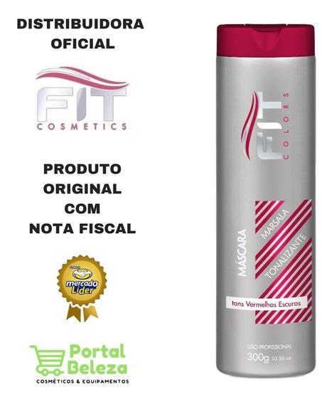 Máscara Tonalizante Marsala - Fit Cosmetics