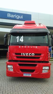 Iveco Stralis 440 6x2 2014 Automatico ,com Ar ,motor Feito