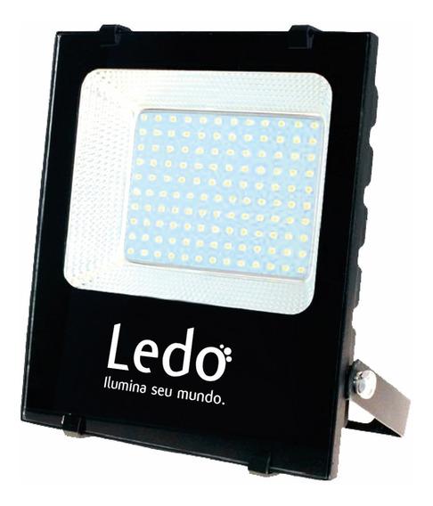 Refletor Holofote Led 50w 3000k Branco Quente Ip65
