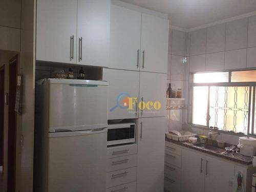 Imagem 1 de 10 de Casa Com 2 Dormitórios À Venda, 100 M² Por R$ 320.000,00 - Jardim Novo Horizonte - Itatiba/sp - Ca0603