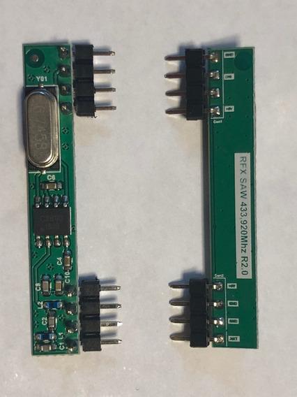 Placa Receptora 433.92mhz Saw Com Ic Cy-33 Portão, Alarmes