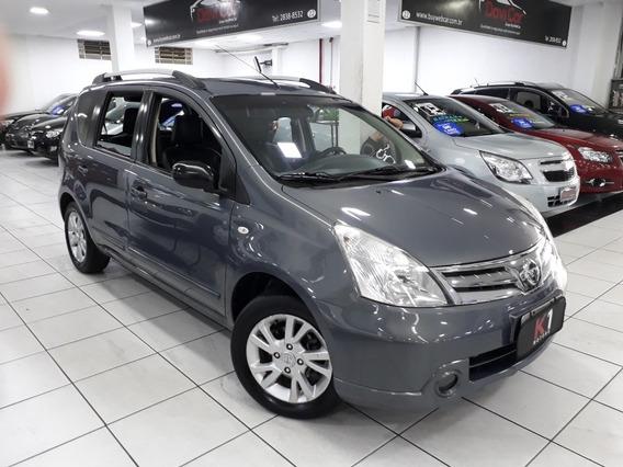 Nissan Livina S 2013 Flex Automatico Cinza