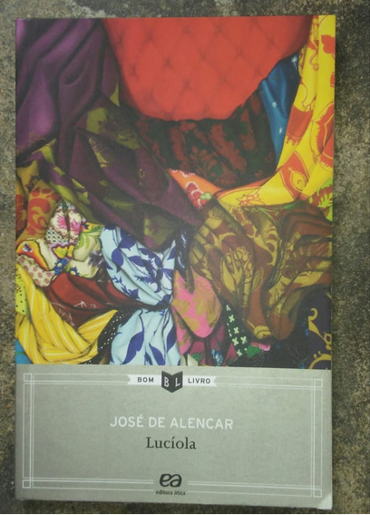 Livro Lucíola - José De Alencar