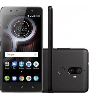 Smartphone Lenovo K8 Plus Dual 32gb 5.2 13+5mp/8mp Preto