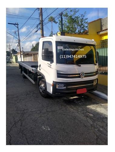 V.w Express 19/20 Caminhao Guincho Plataforma  Com Divida