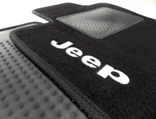 Jogo Tapete Jeep Renegade 2016 2017 2018 2019 2020 Carpete