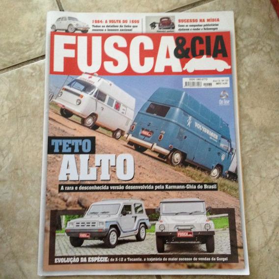 Revista Fusca & Cia 137 Teto Alto / Besouro Nacional 1600