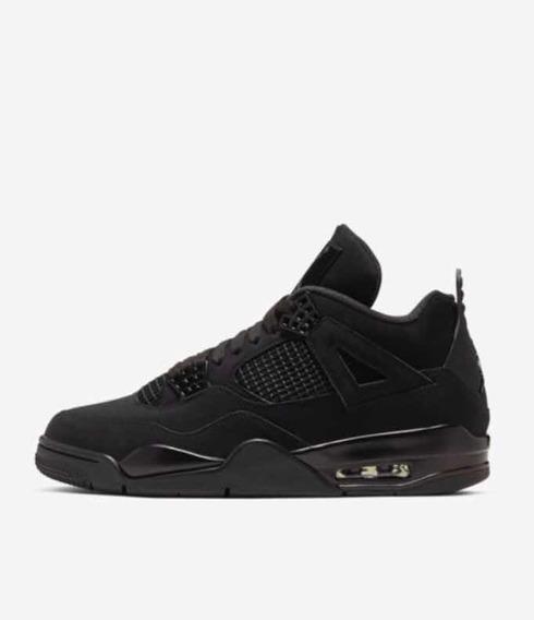 Tênis Nike Air Jordan Iv Black Cat Pronta Entrega