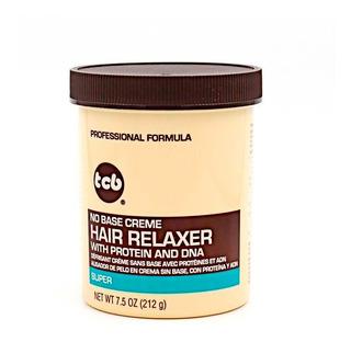 Hair Relaxer Tcb Super Crema Alisador 212 Gr Con Proteínas