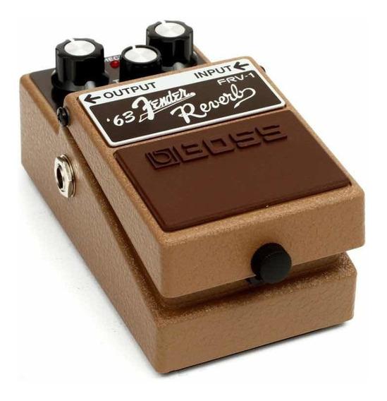Reverb Pedal Boss Fender 63