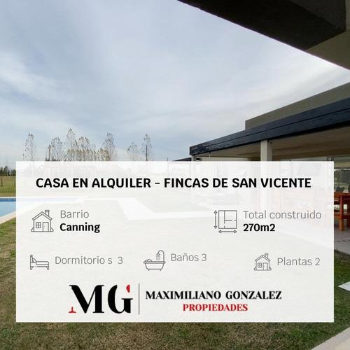Imagen 1 de 17 de Casa - Barrio Fincas De San Vicente