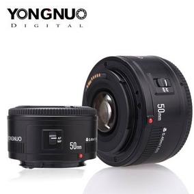 Lente Yongnuo 50mm Canon Yn F/1.8 Lente Envio Imediato