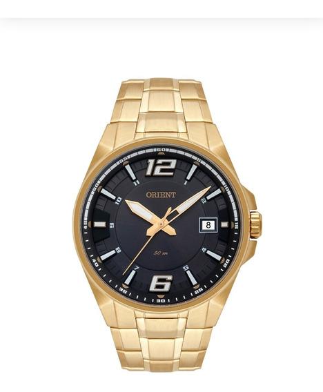 Relógio Orient Masculino Mgss1168 G2kx Dourado Original