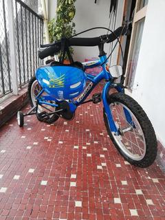 Bicicleta Para Chico Rodado 16 Marca Halley