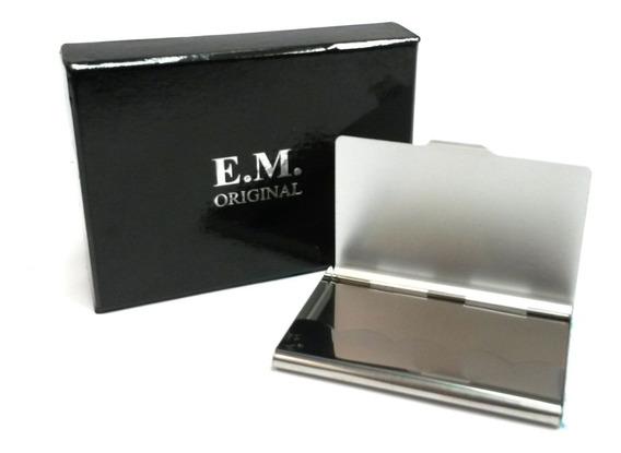 Tarjetero Aluminio Importado Ref: Js8807 Portatarjetas