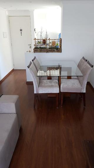 Excelente Apartamento Para Locação, 2 Quartos, 1 Vaga - Taboão - São Bernardo Do Campo - 11778
