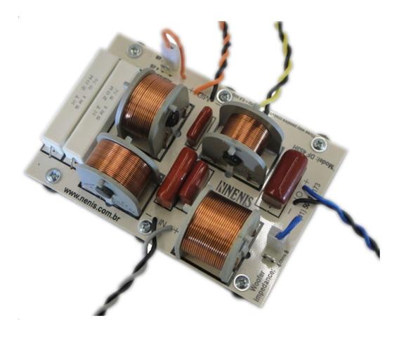 Divisor De Frequencia Passivo Nenis Df 453h 3 Vias 450 W Rms
