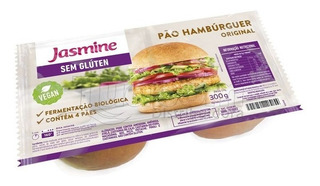 Pão Hambúrguer Original Sem Glúten Jasmine