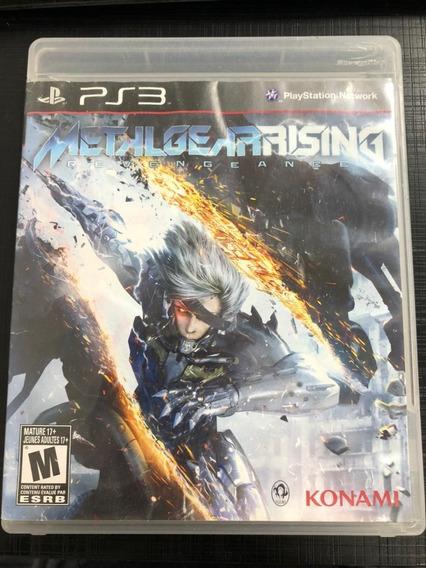 Jogo Ps3 Metal Gear Rising Midia Fisica Barato Envio Já!