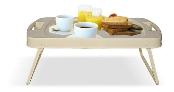 Bandeja De Cama Desayuno Plegable Con Patas Y Manijas Colombraro