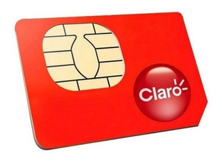 Chip Claro 4g Ddd Para Qualquer Lugar Do Brasil- 5 Unidades