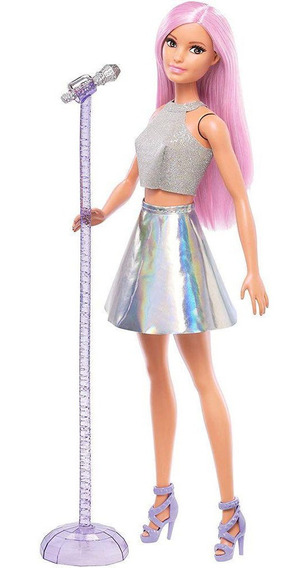 Barbie Profissões Estrela Pop Boneca Mattel Dvf50