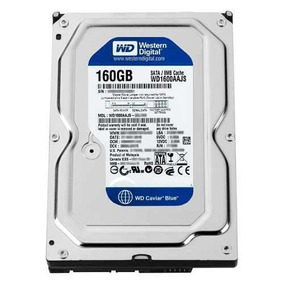 Hd Desktop Western Digital 160gb Sata3 Wd1600aajs 7200rpm