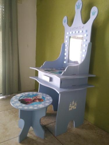 Tocador Infantil Personalizado! Con Luces (leer Todo)