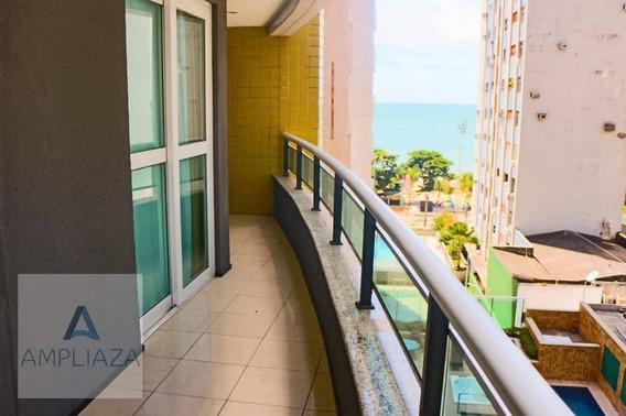Apartamento Com 2 Dormitórios Para Alugar, 75 M² Por R$ 3.000,00/mês - Meireles - Fortaleza/ce - Ap0378