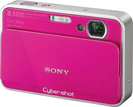 Câmera Cyber Shot Sony Dsc- T2