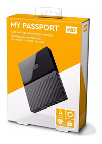 Hd Externo Western Digital My Passport 4tb 4000 Mb 4 Tb
