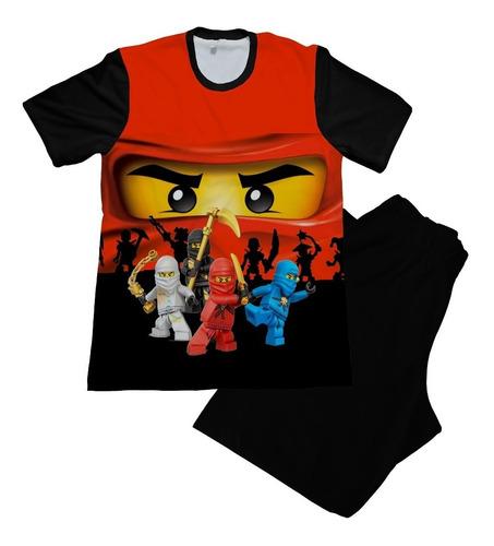 Pijama Niño Ninjago Lego Perosnalizada
