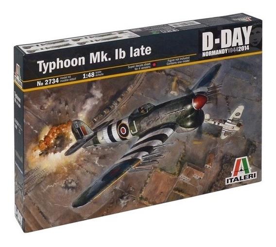 Aviao Typhoon Mk. Ib Late Escala 1:48 Italeri Ita2734